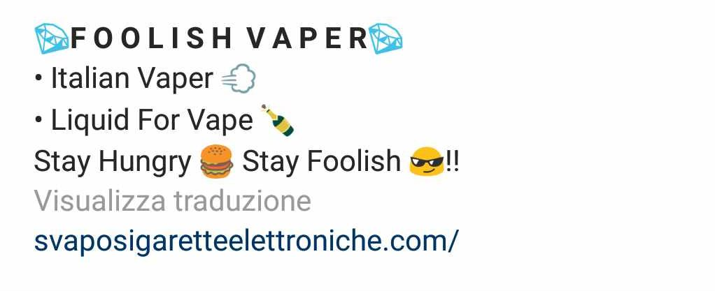 Nuovi followers bio instagram